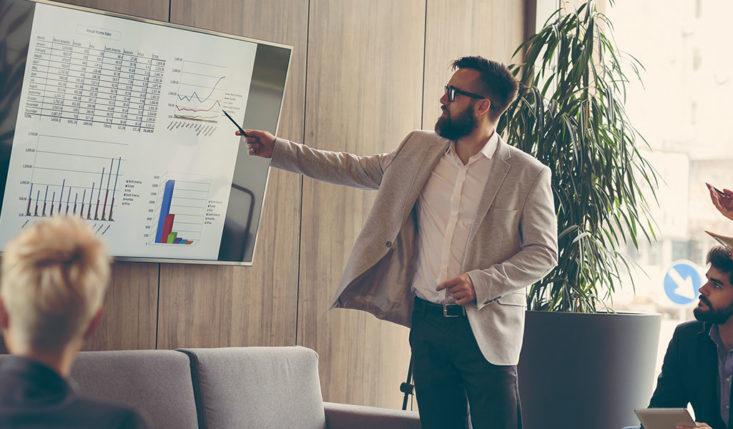 présentation powerpoint pour résultats commerciaux