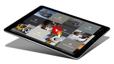 Application de présentation sur iPad pour Safran